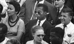 James Baldwin in a scene from I Am Not Your Negro.