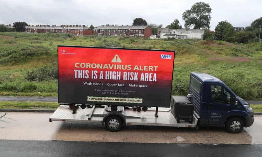 Warning van