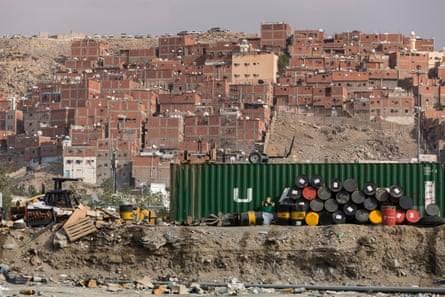 The city has sprawled, with only a handful of old buildings remaining.