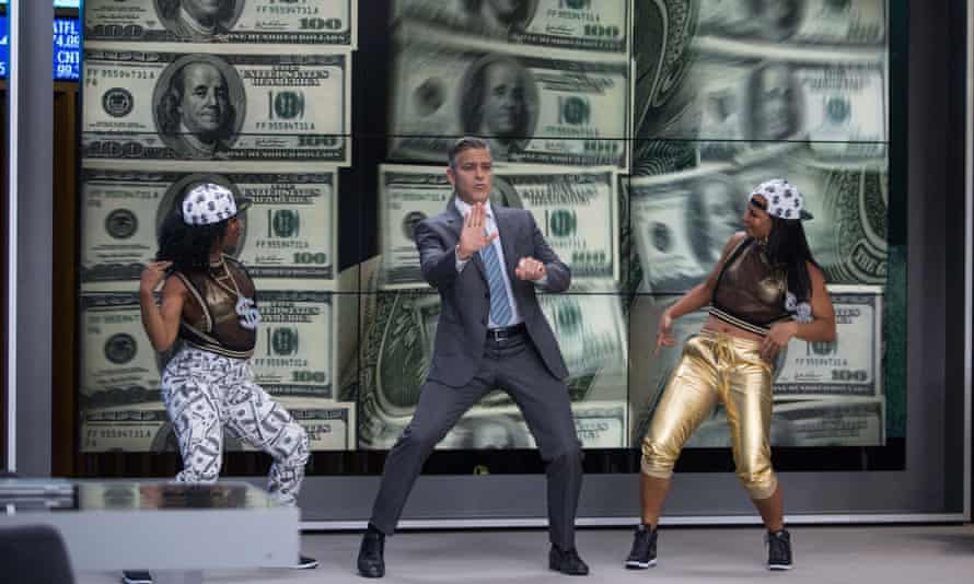 Dad dancing ... George Clooney in Money Monster.