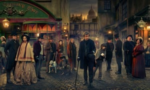 The cast of Dickensian Tuppence Middleton, Joseph Quinn), Bethany Muir, Anton Lesser, Stephen Rea, Peter Firth, Ned Dennehy, Richard Ridings, Caroline Quentin, Pauline Collins and Omid Djalili.