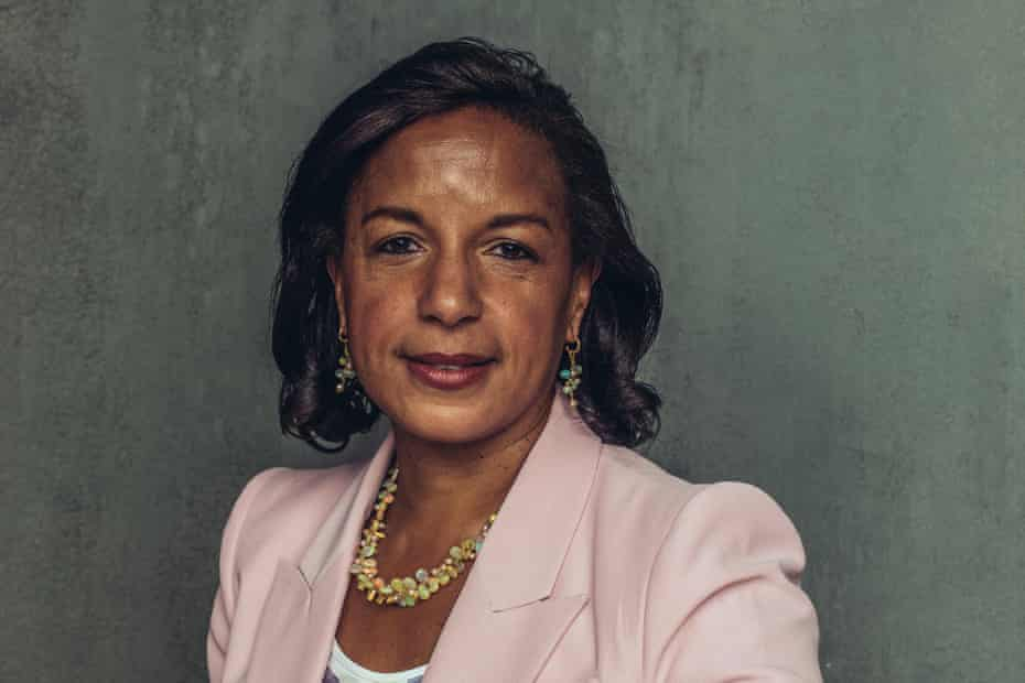 Susan Rice: 'Our adversaries have demonstrated both the will and capacity to weaponise our divisions to use against us.'