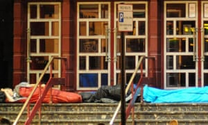 Increasing numbers of people are being made homeless thanks to rising property prices.