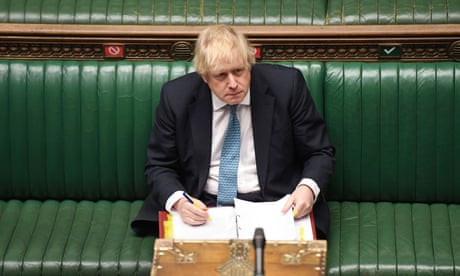 How long until Johnson's vote-winning optimism collides with reality? | Andy Beckett