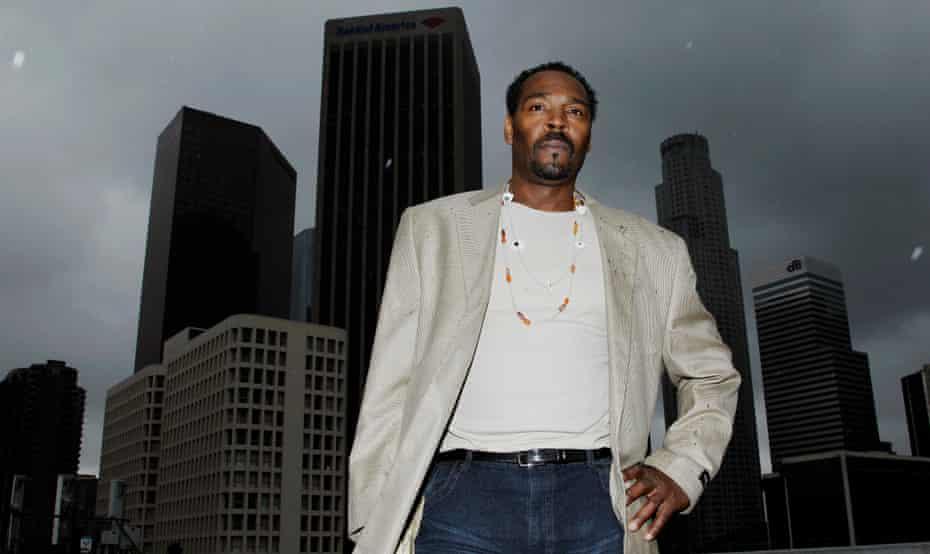 Rodney King in Los Angeles, 2012.