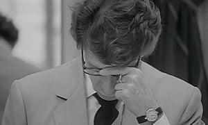 Troubled times … Yves Saint Laurent.