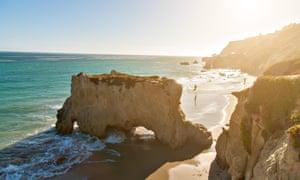 El Matador beach Malibu
