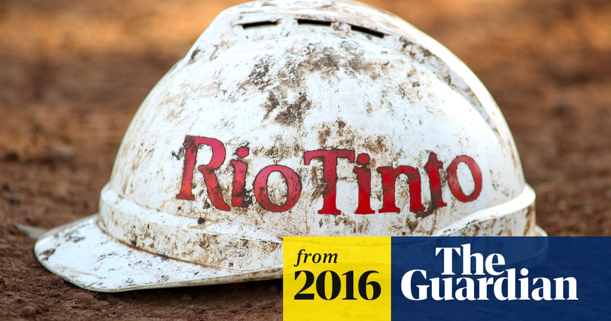 Revealed: Rio Tinto's plan to use drones to monitor workers' private