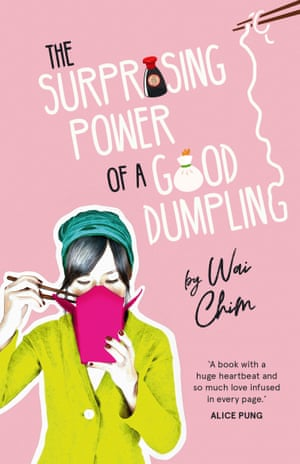 Cover image for Wai Chim's novel Surprising Power of a Good Dumpling