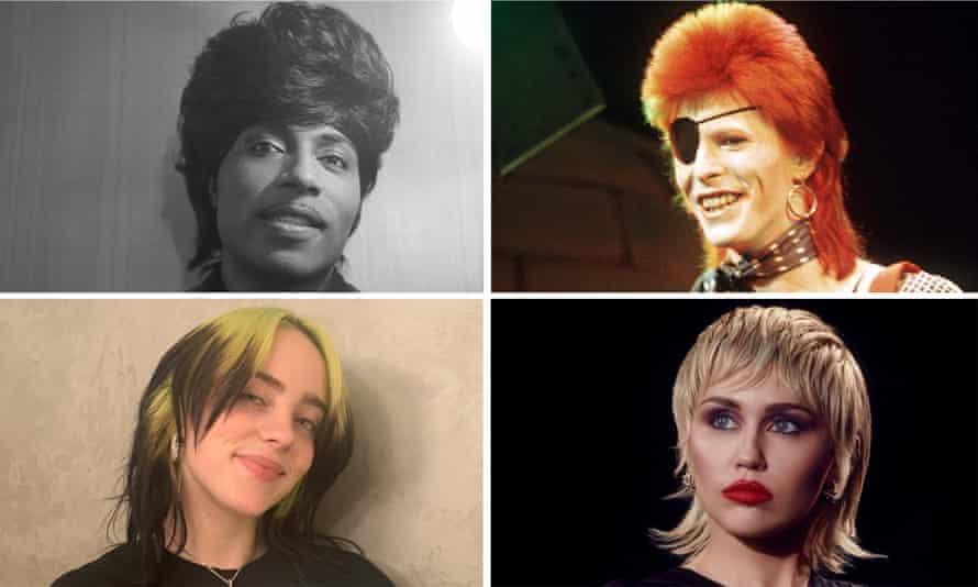 Little Richard, David Bowie, Miley Cyrus and Billie Eilish.