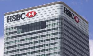 HSBC's headquarters in London