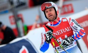 David Poisson finished seventh in the downhill at the 2010 Olympics