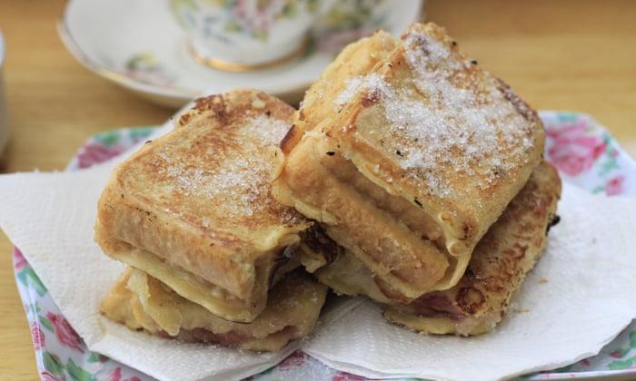 Image result for jam sandwich fritter
