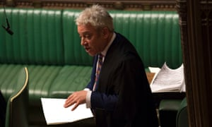 John Bercow, the Speaker.