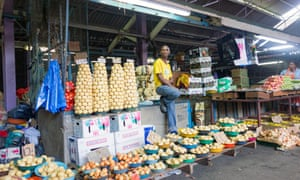 Warwick market sells everything from food and clothes to traditional medicines and music.