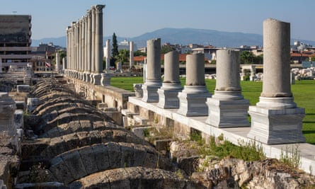 Smyrna, now surrounded by modern Izmir, was originally established around 1000BC by Aeolian Greek settlers.
