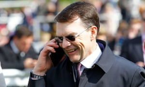 Aidan O'Brien pictured after victory with Hermosa in the 1,000 Guineas at Newmarket on Sunday.