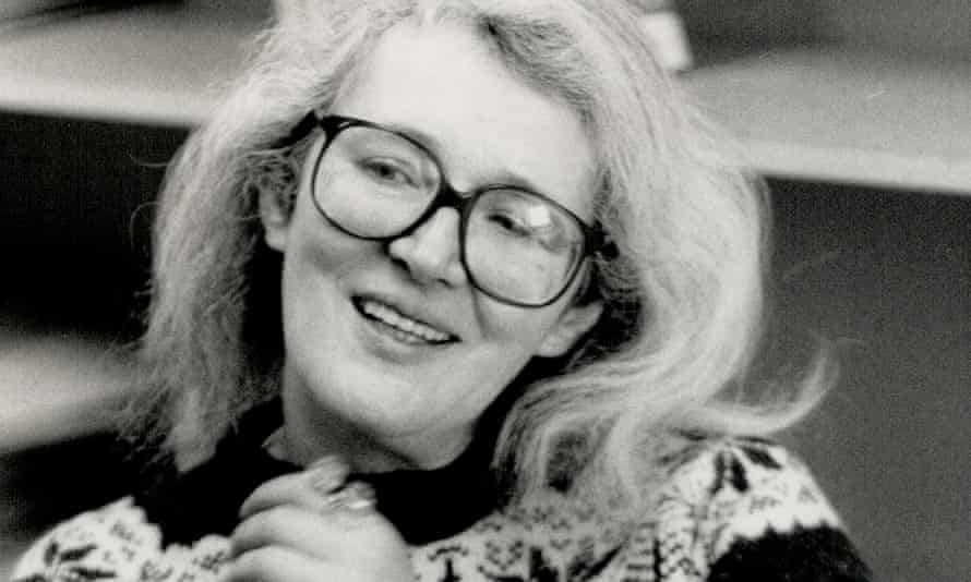 Angela Carter in 1988.