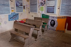 The school where Che Guevara was killed after being taken prisoner. La Higuera, Bolivia