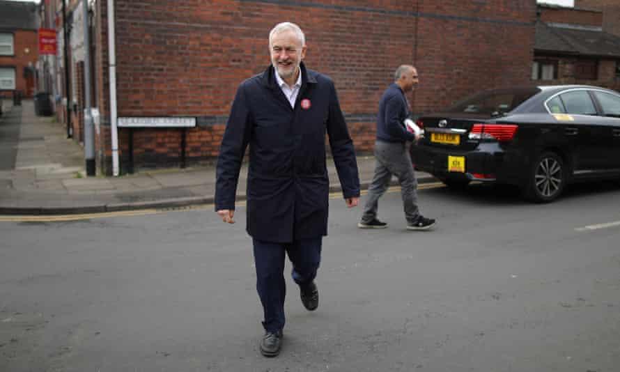 Jeremy Corbyn in Stoke-on-Trent