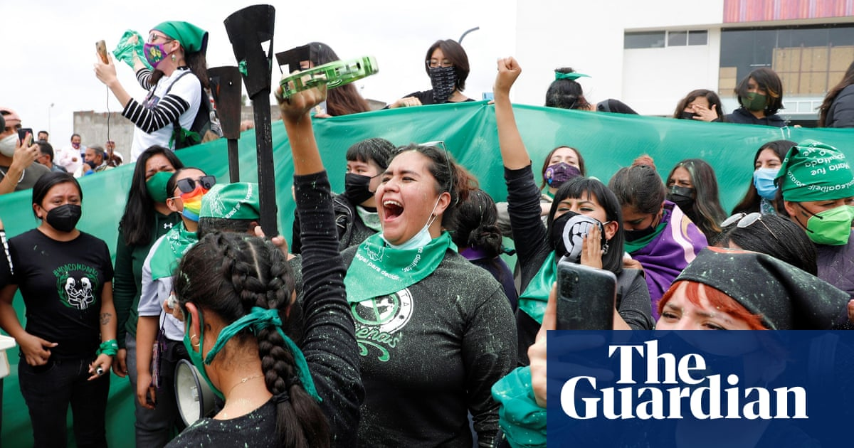 Mexico activists celebrate abortion ruling as a sign of culture change