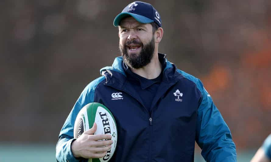 Andy Farrell has been described as a natural in terms of simple and effective communication to players.