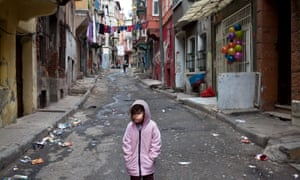 Tarlabasi, Istanbul's oldest slum, Turkey.
