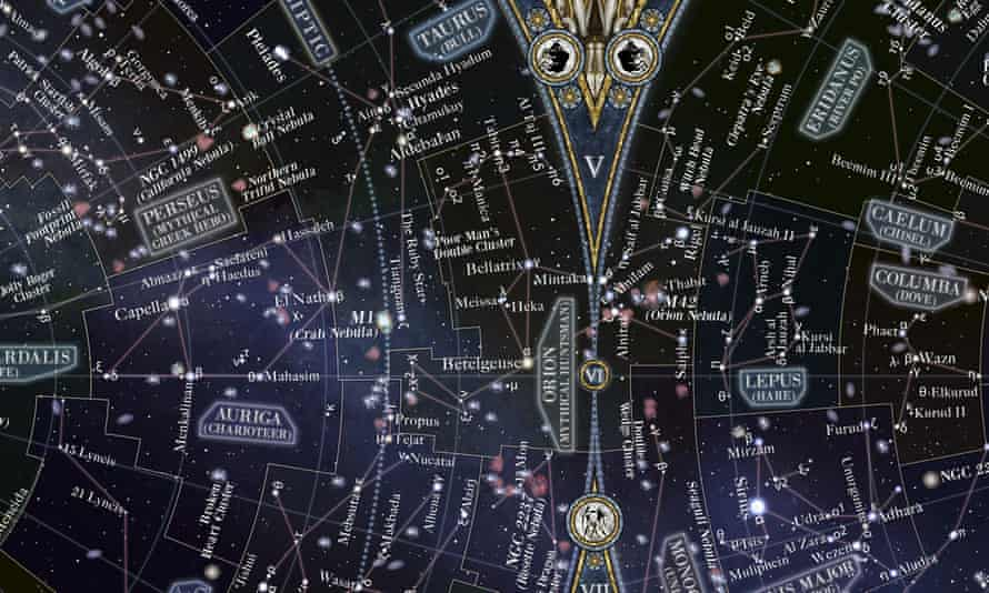 Map of the Night Sky