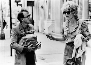 Woody Allen and Mia Farrow in Broadway Danny Rose (1984).