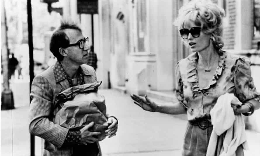 Allen and Farrow in Broadway Danny Rose.