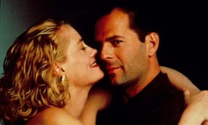 Cybill Shepherd and Bruce Willis as Maddie and David in Moonlighting