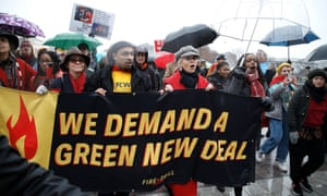 Sally Field and Jane Fonda demonstrate on Capitol Hill during 'Fire Drill Friday' climate crisis protest on 13 December 2019.