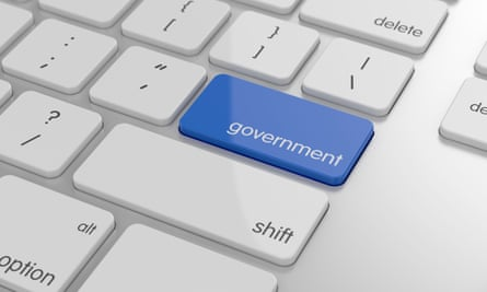 Government button on keyboard