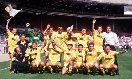 When Cambridge United won the first Wembley play-offs final 30 years ago