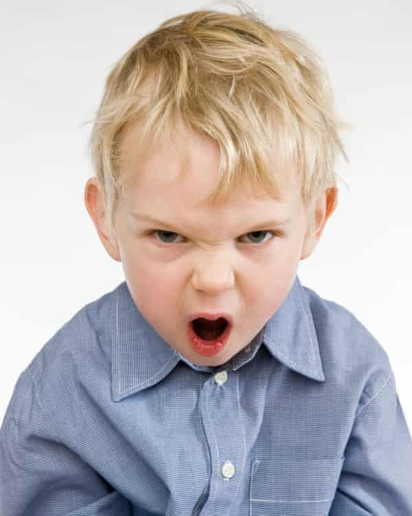 A toddler's tantrum is a combination of two emotions – anger and sadness
