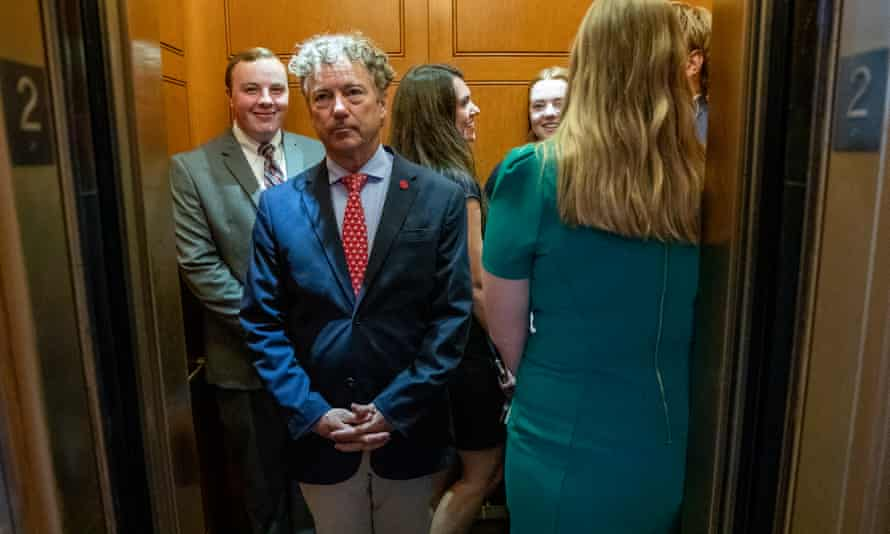 Senator Rand Paul, a qualified physician, has been banned from YouTube for a week for a post questioning the efficacy of masks.