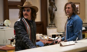 Ethan Hawke and Mark Strong in The Captor.