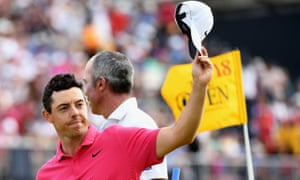 Rory McIlroy was unable to claim a second Open win, after his triumph in 2014.