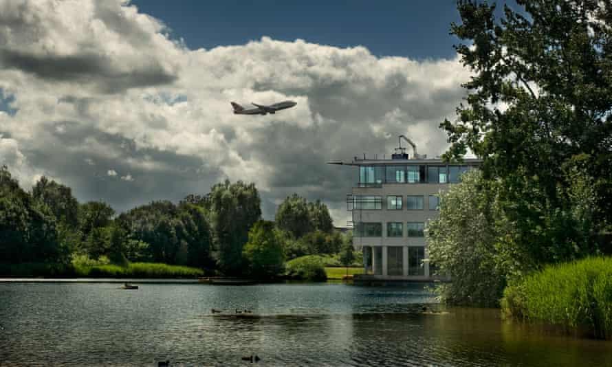 British Airways Waterside headquarters at Harmondsworth Moor