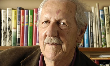 Brian Aldiss in 2007. He wrote lively, intelligent prose, shot through with subversive humour, linguistic novelty and human observation.