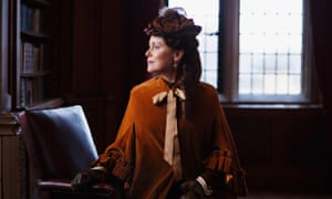 The mysterious Keeley Hawes in Year of the Rabbit.