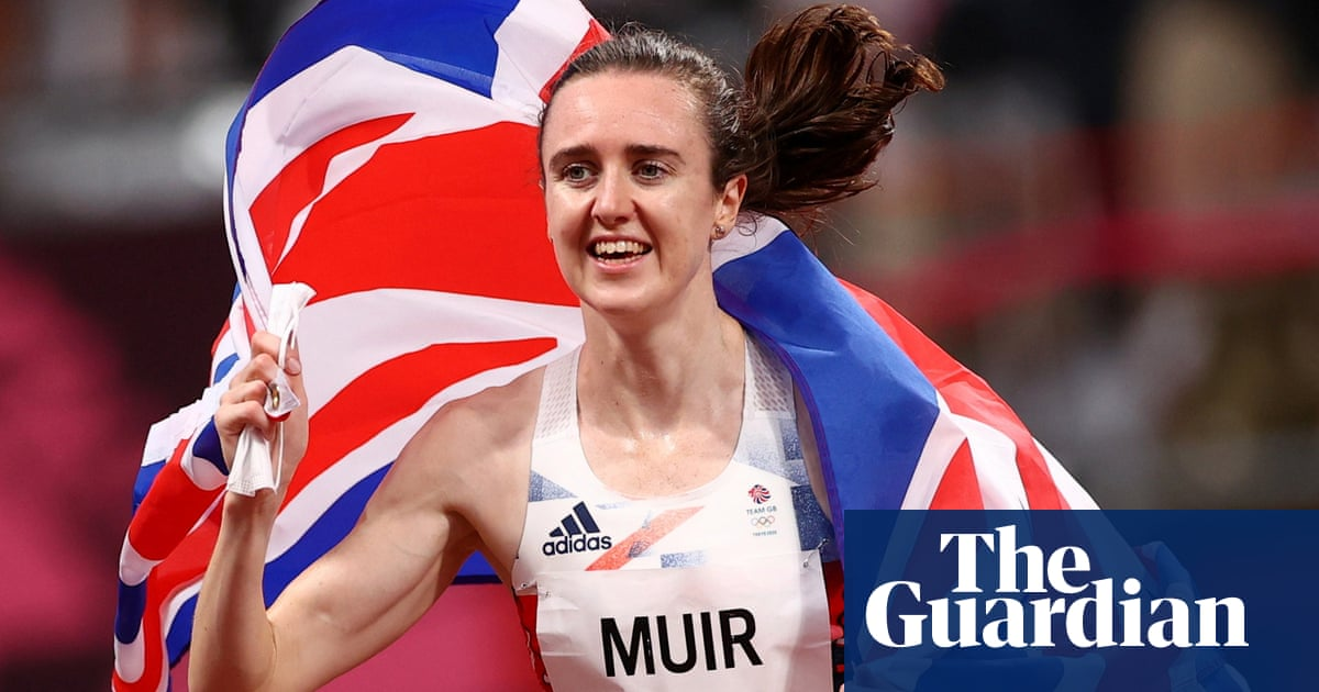 Laura Muir keeps faith and is rewarded with Olympic silver medal in 1500m