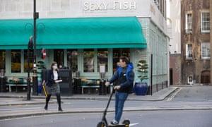 Sexy Fish restaurant in Mayfair