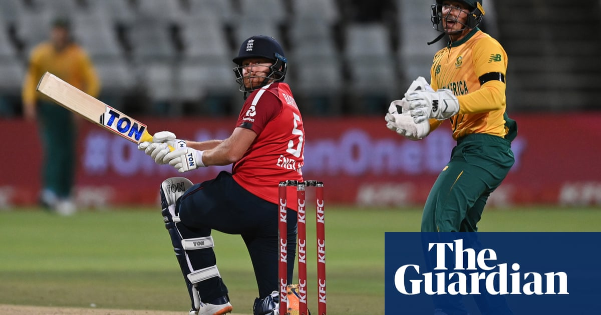 Jonny Bairstow blasts England to victory in first T20 against South Africa