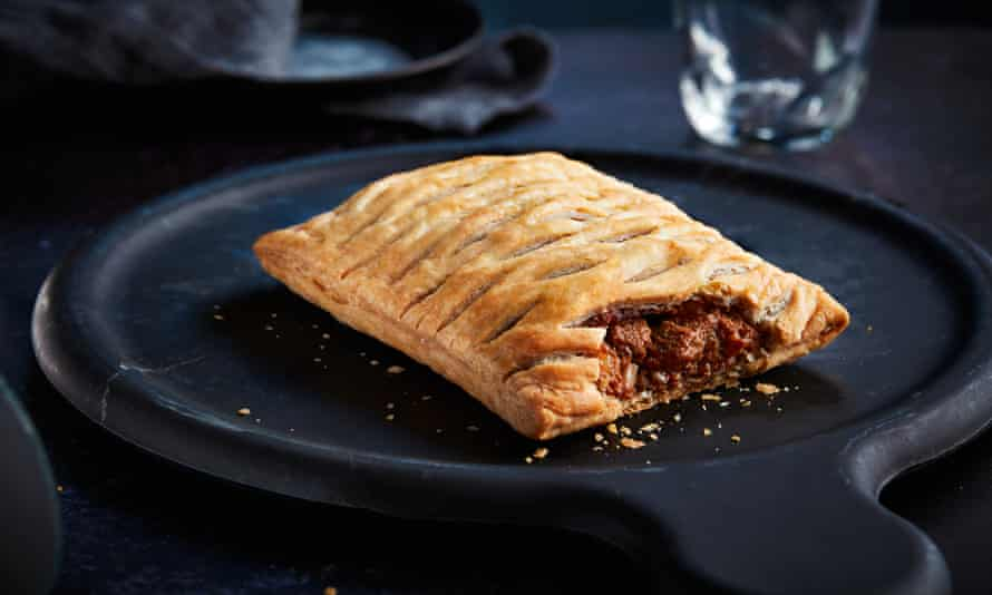 Greggs' vegan steak bake