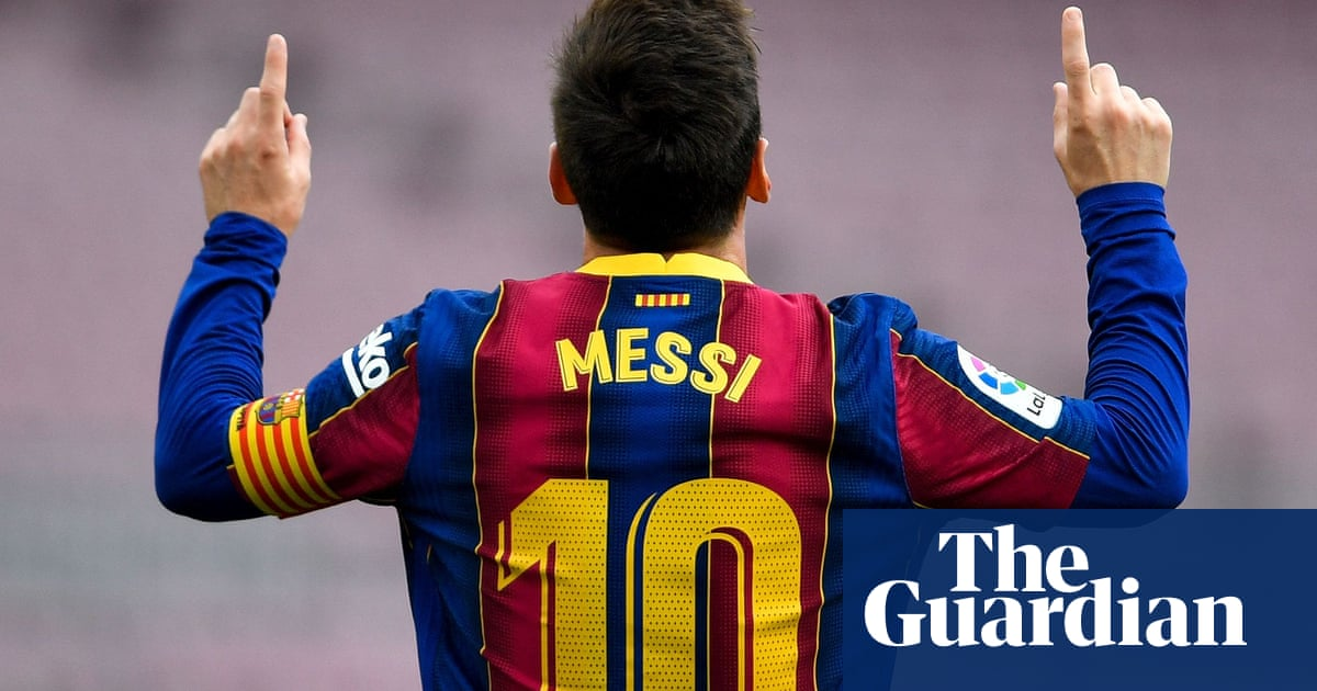 Lionel Messi agrees new five-year contract to stay with Barcelona