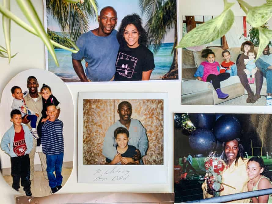 Collage of family photos from Whitney Bradshaw