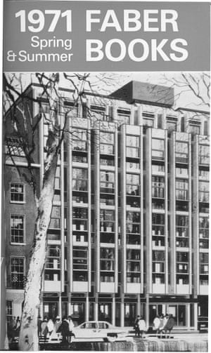 The architect's representation of Faber's new offices in Queen Square. On the back of the same catalogue, a useful map showed how to walk there from the old offices in Russell Square.