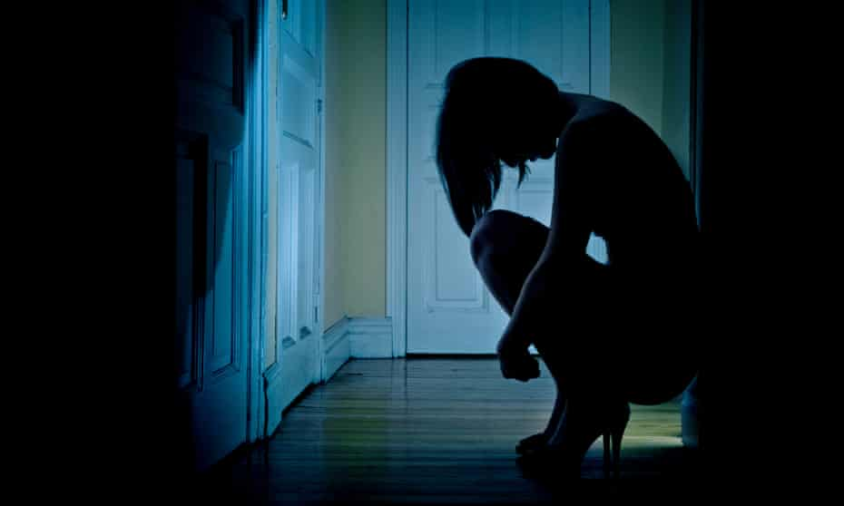 'It took time to see how scared I was, to realise how my sense of self had disappeared. The shame was awful.'