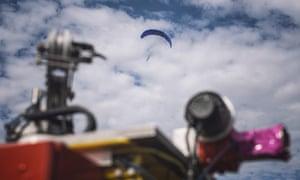 Kite tests in Essex.